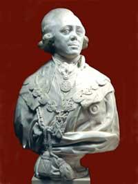 Ф.И. Шубин. Портрет Павла I. 1800
