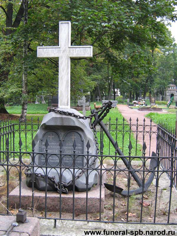 могила Авинова А.П.