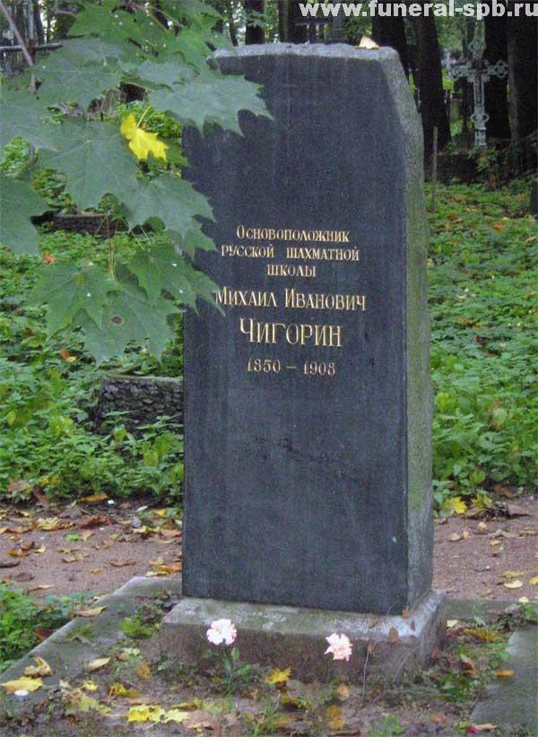 могила Чигорина М.И.