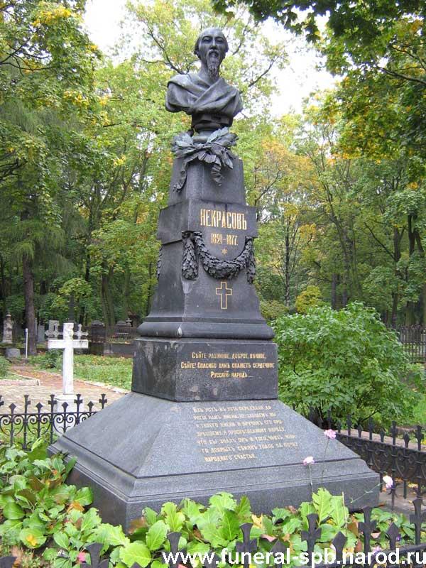 могила Некрасова Н.А.