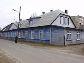 Дом в Пярну, где родился Посьет