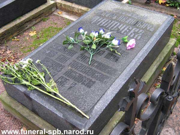 Могила Тютчева Ф.И.