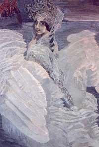 М.А. Врубель. Царевна-Лебедь