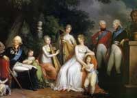 Павел I и Мария Федоровна и их дети
