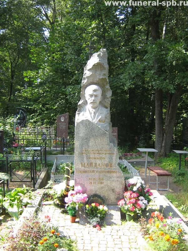 могила Н.С. Майданова