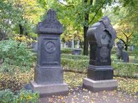 могилы Глинки М.И. и Шестаковой Л.И.